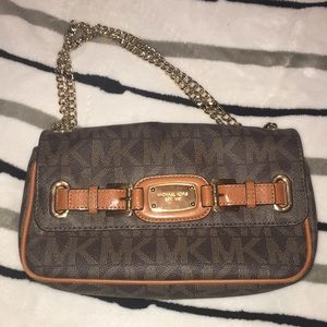 Michael Kors Hamilton Shoulder Flap Purse